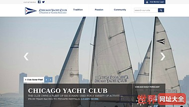 芝加哥游艇俱乐部主页