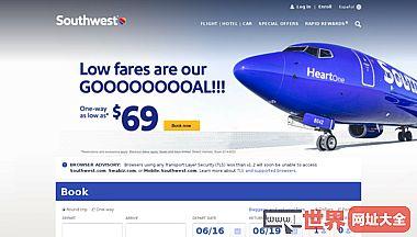 美国西南航空公司官方网站