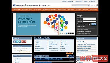 美国心理学协会(APA)