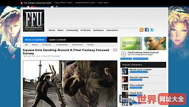 Final Fantasy Union | Everything Final Fantasy In