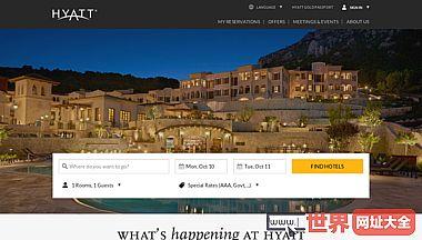 凯悦酒店集团官方网站