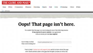 加拿大环球邮报
